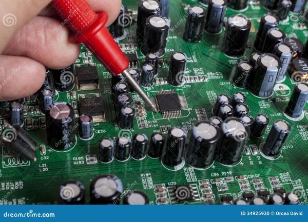 Electronics stock photo. Image of part, maintenance ...