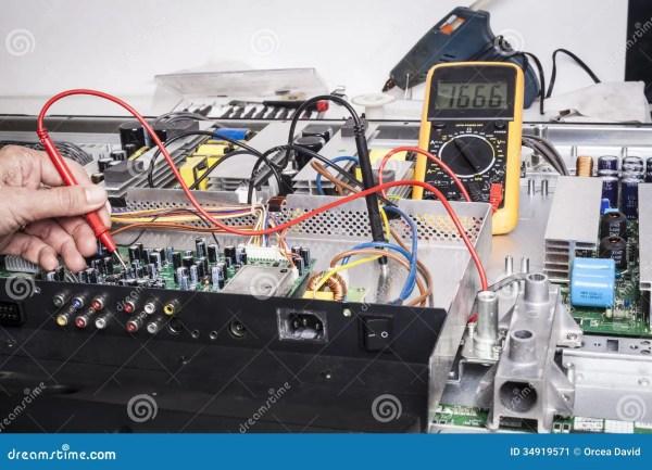 Electronics Repair Stock Image - Image: 34919571