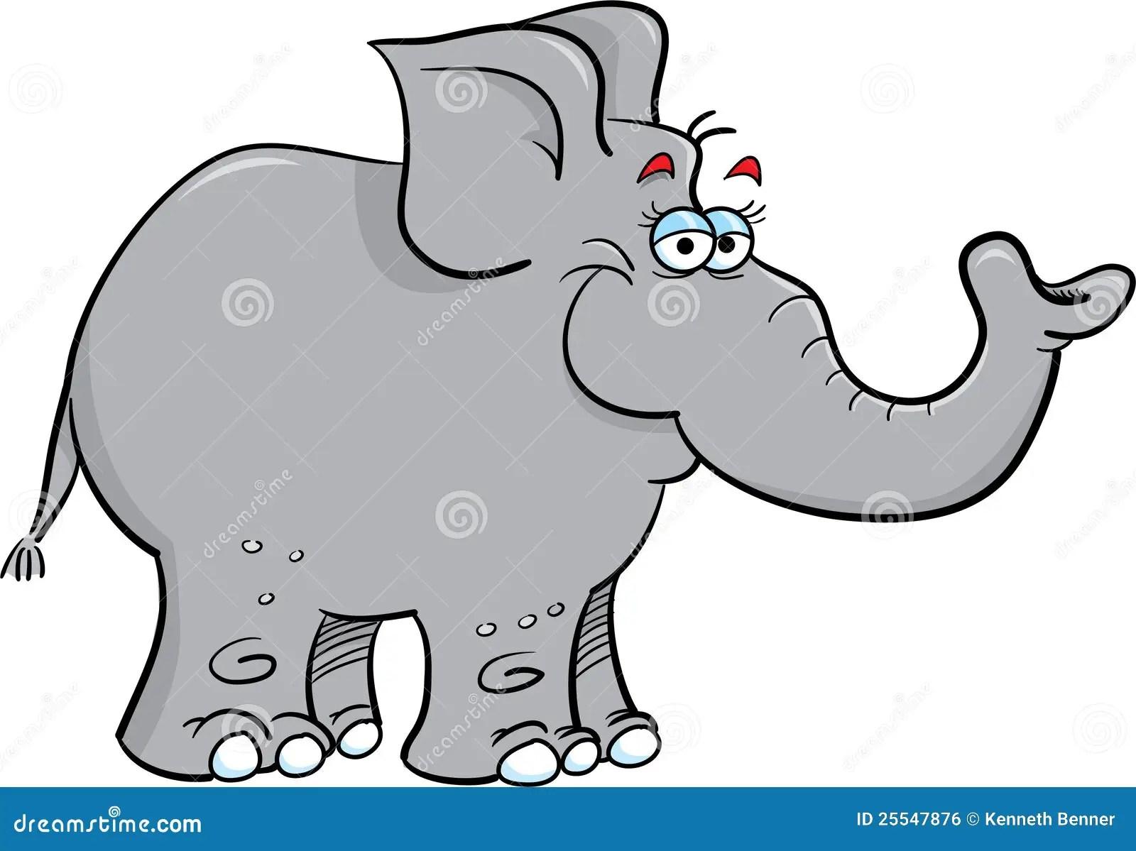 Elefante Gris Imagen De Archivo Libre De Regalias