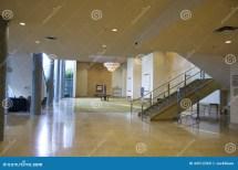 Elegant Hotel Lobby Stock - 44512269