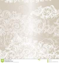 Elegant Seamless Floral Pattern Background With Ornament ...