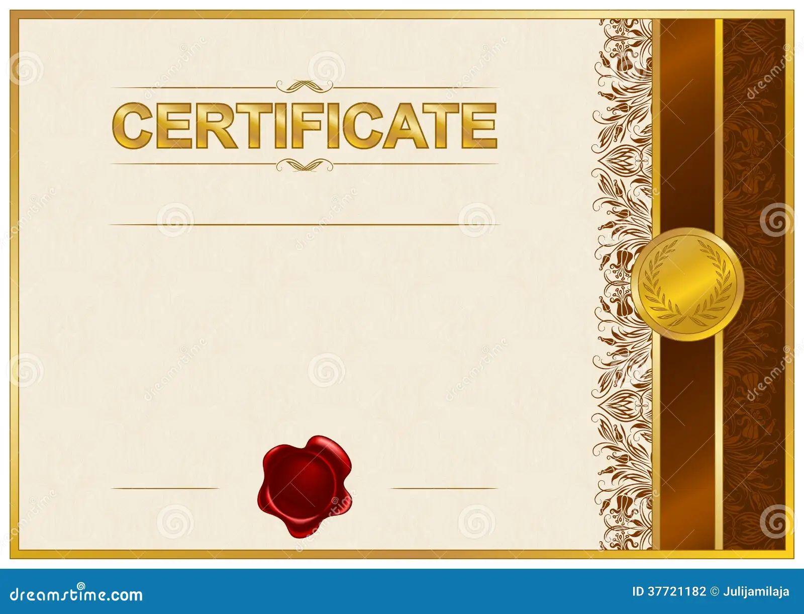 elegant certificate templates free