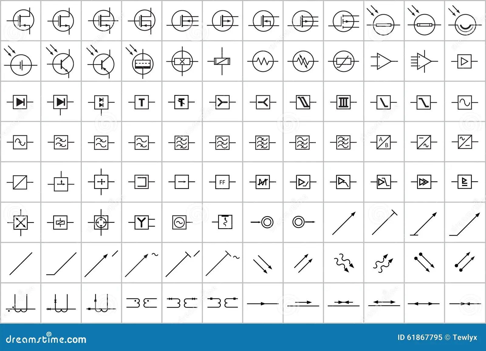 Wunderbar Visio Elektronische Symbole Ideen - Der Schaltplan ...