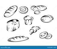 Elementos da padaria ilustrao do vetor. Ilustrao de