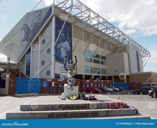 Elland Road Football Stadium The Home Of Leeds United ...