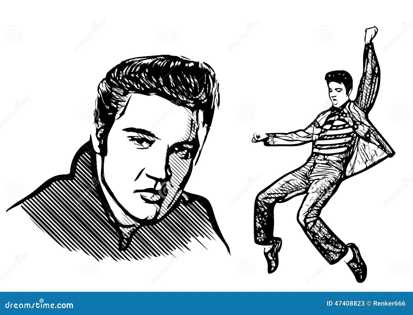 Elvis Cartoons Illustrations Amp Vector Stock Images
