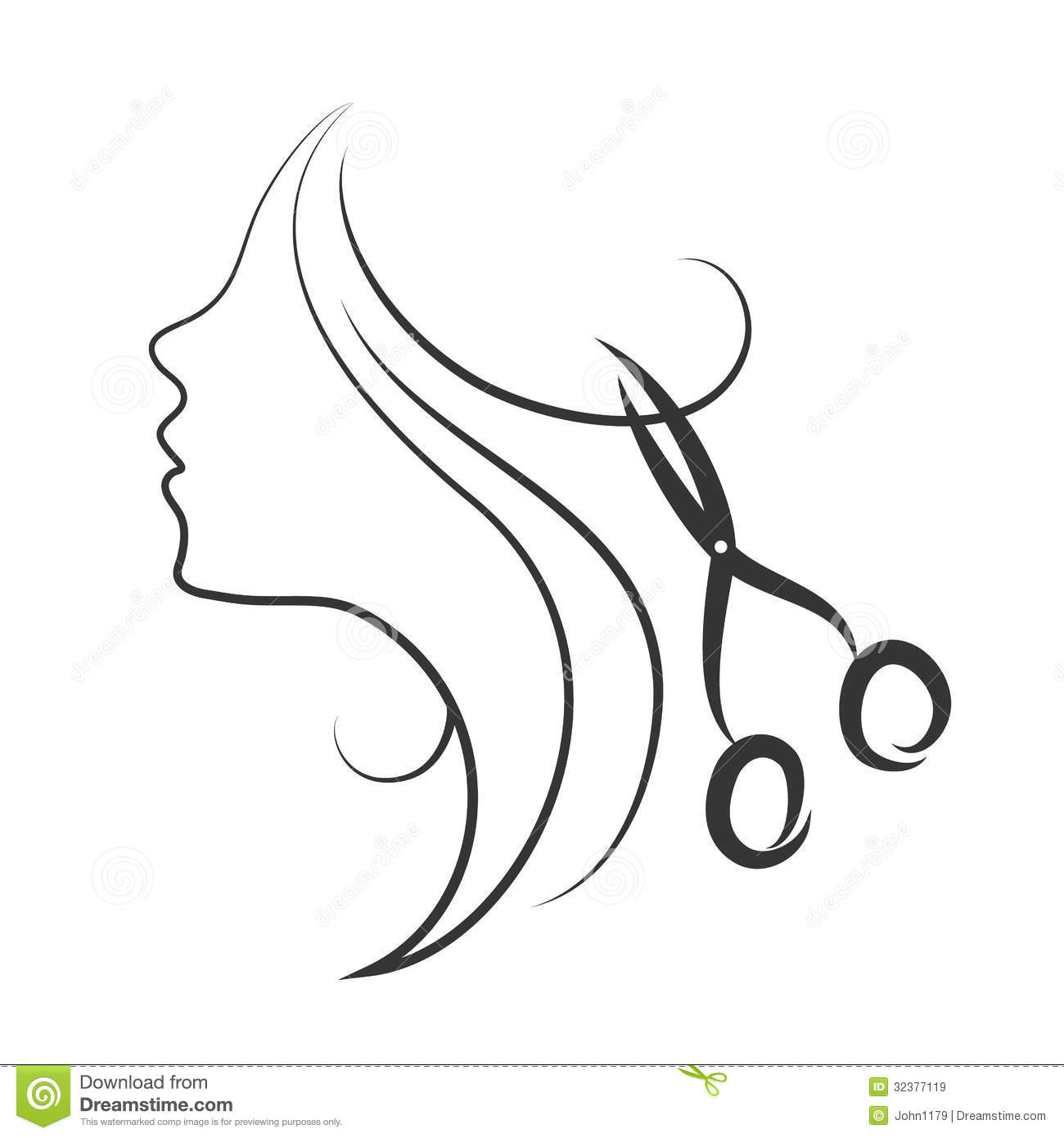 Emblem Of Beauty Salon Royalty Free Stock Images
