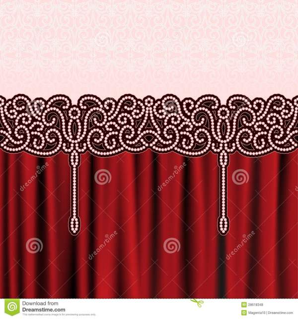 Embroidery Background Royalty Free Stock