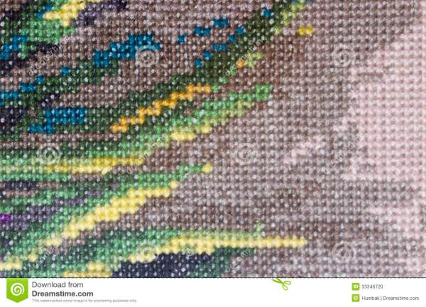 Embroidery Background Stock - 33346720