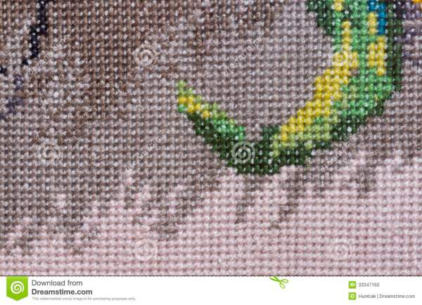 Embroidery Background Stock - 33347160
