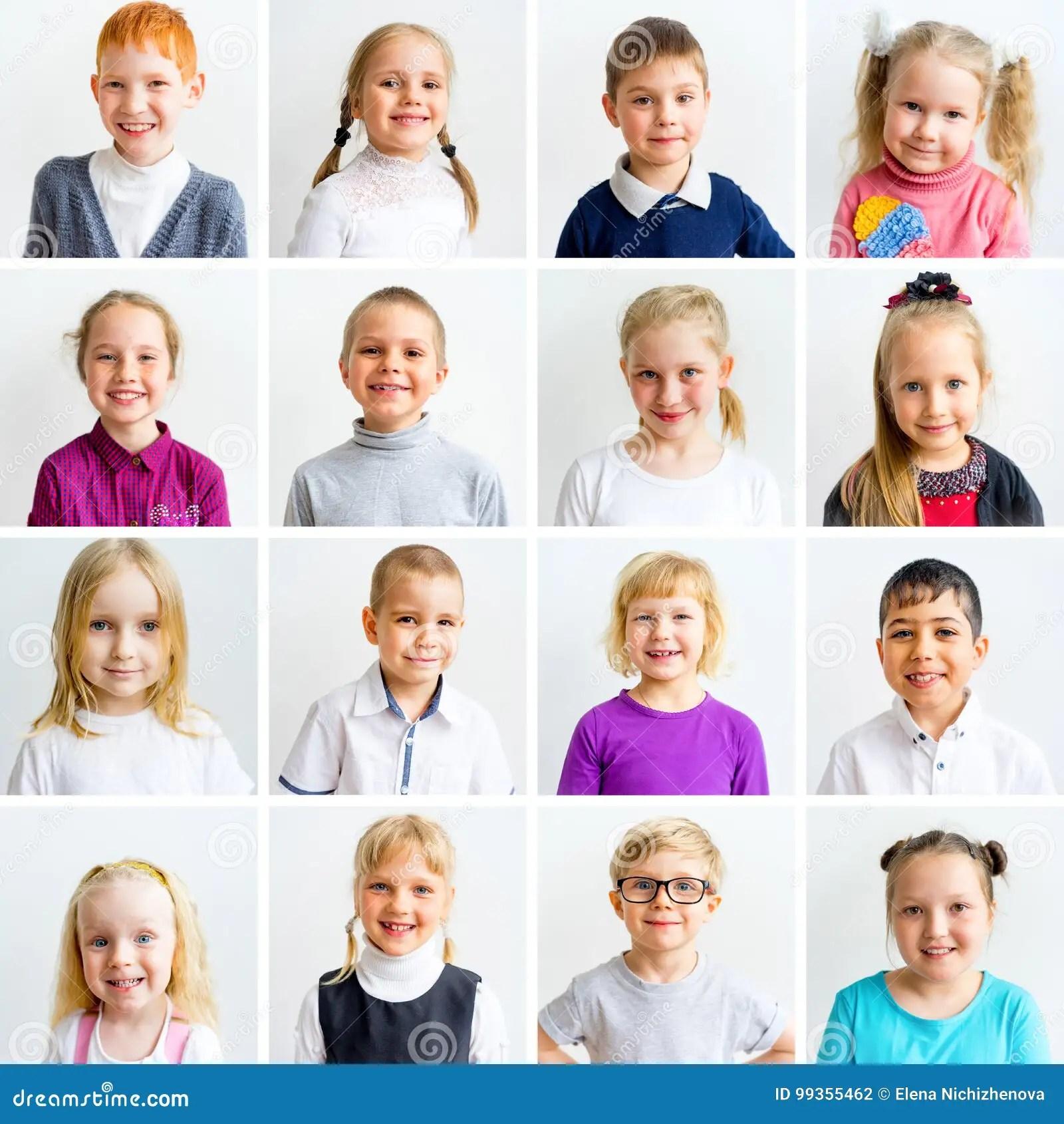 Embroma El Collage De Las Emociones Foto De Archivo