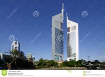 Emirates Towers Icon Outline Style Vector Illustration