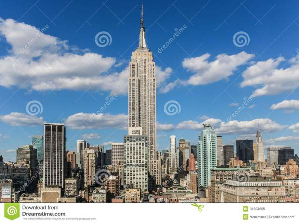 Empire State Building Editorial Of Over - 31584855
