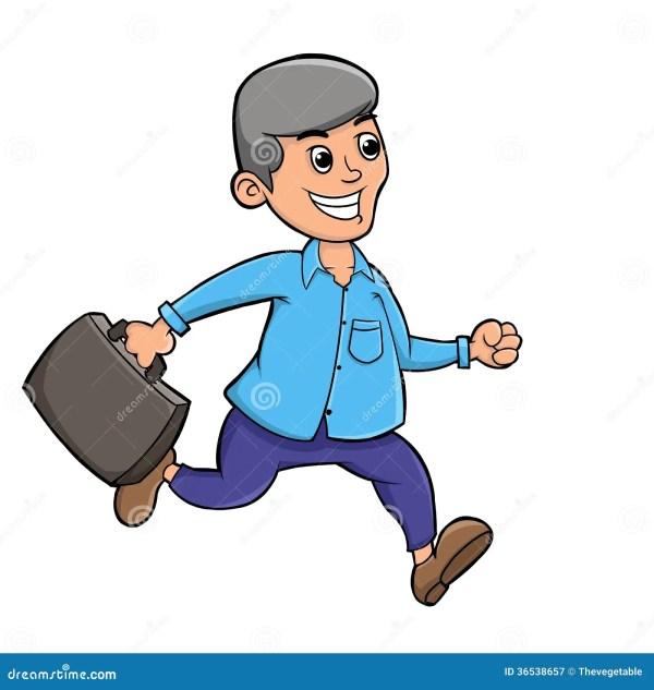 Employees Office Stock Illustration