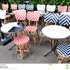 Parisian Cafe Chairs Lenoir Chair Company Empty Beautiful Street Restaurant Furniture In Paris