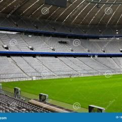 Chair Ball Game Papasan Cushion Covers Diy Empty Football Stadium Royalty Free Stock Photo - Image: 18476095