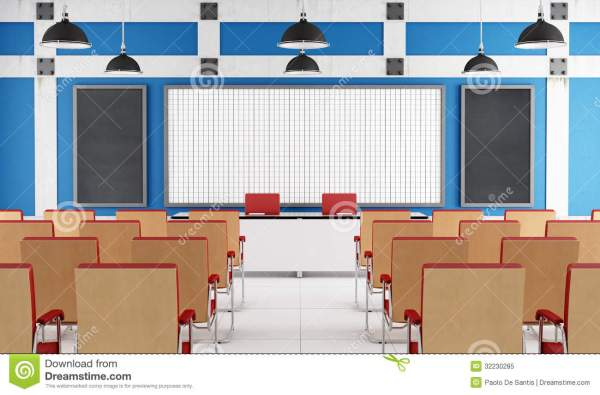 Empty Lecture Hall Royalty Free Stock - 32230285