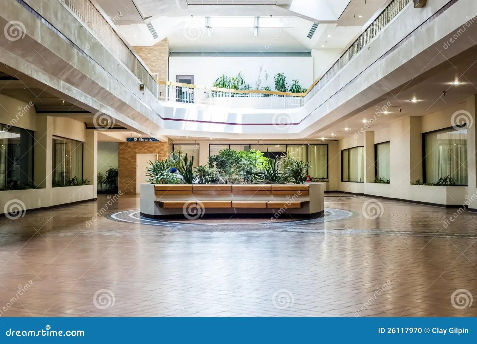 Empty Mall 2 Of 2 Stock Photo Image 26117970