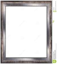 Empty modern photo frame stock illustration. Illustration ...