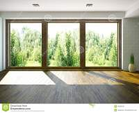 Empty room stock illustration. Illustration of interior ...