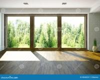 Empty room stock illustration. Illustration of interior ...