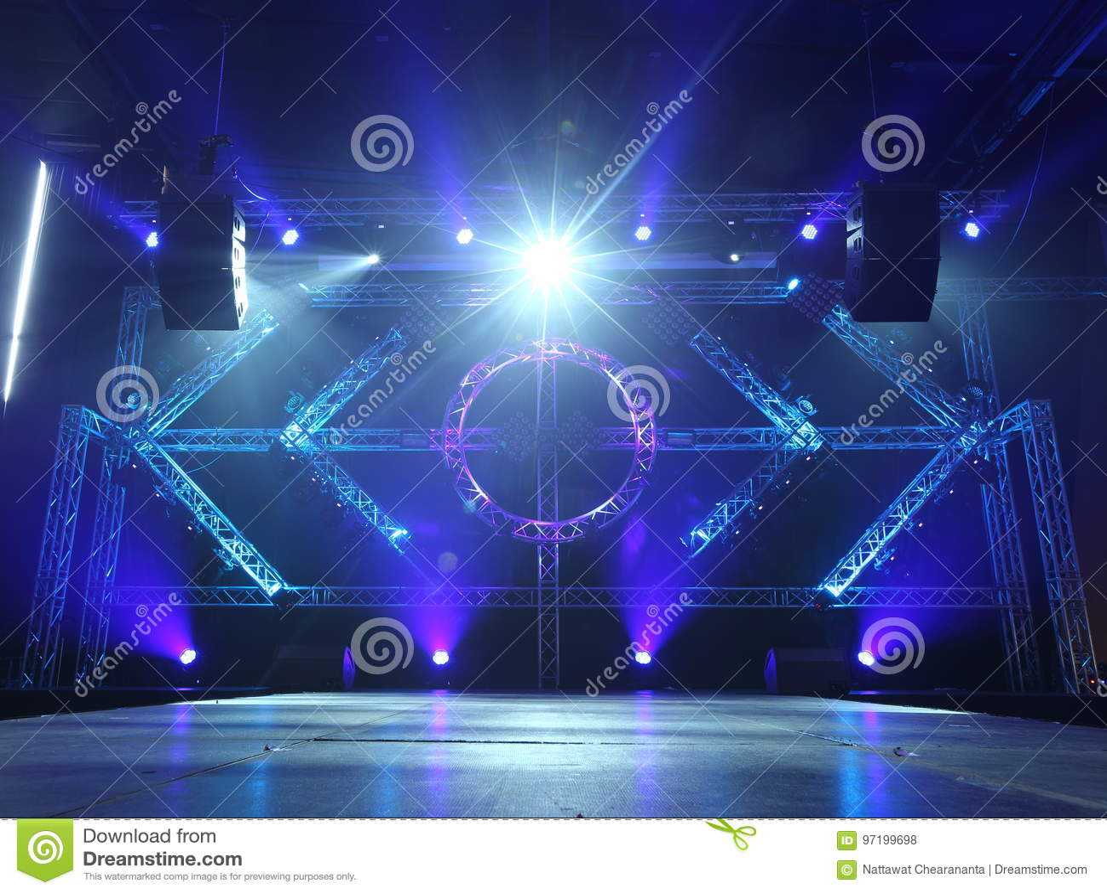 https www dreamstime com stock photo empty runway fashion show catwalk moving beam lighting along walk way background stage ramp image97199698