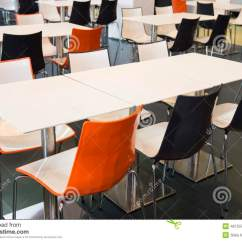 Fast Table Chair Best High Chairs Canada Empty Tables And Stock Photo Image 46733792