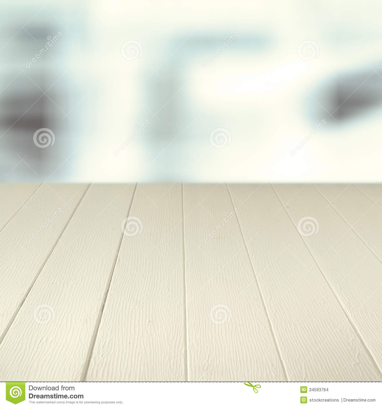 kitchen counter table industrial tables empty wooden background stock images - image: 34593764