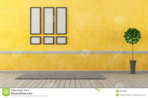 empty clipart living yellow carpet storage clip rendering frame illustration cliparts clipground