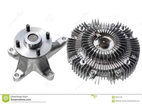 small resolution of engine cooling fan clutch and bracket fan car engine