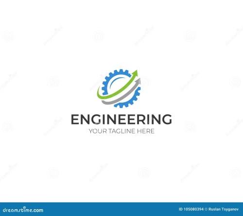 small resolution of engineering logo template gear vector design
