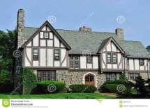 English Tudor House Exterior
