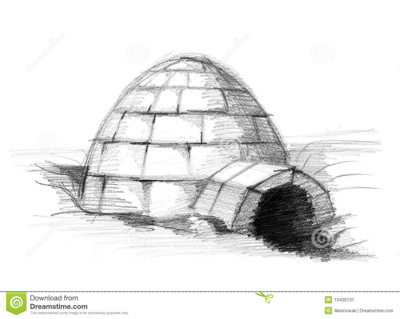 Eskimo Igloo Stock Image