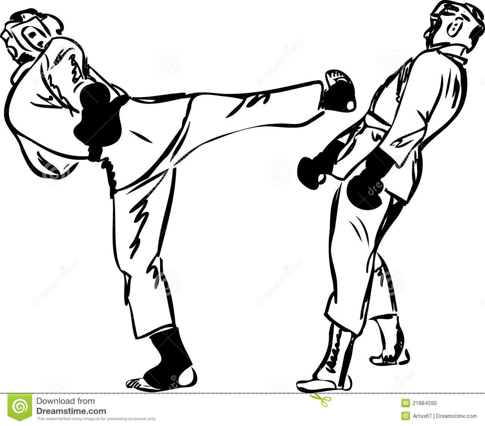 Esportes Das Artes Marciais De Kyokushinkai Do Karate