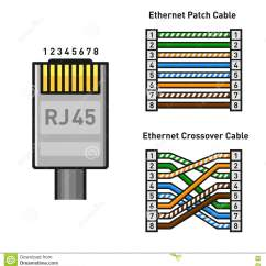 Cat5 Network Cable Wiring Diagram Draw Venn In Word Db15 To Rj45 Cat5e