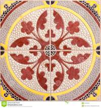 Ethnic Arabic Ornaments Pattern Tiles Design Stock Image ...