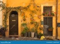 European Door & European Door Flower Pot Exterior