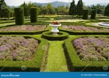 European Garden Stock Of Grass Green