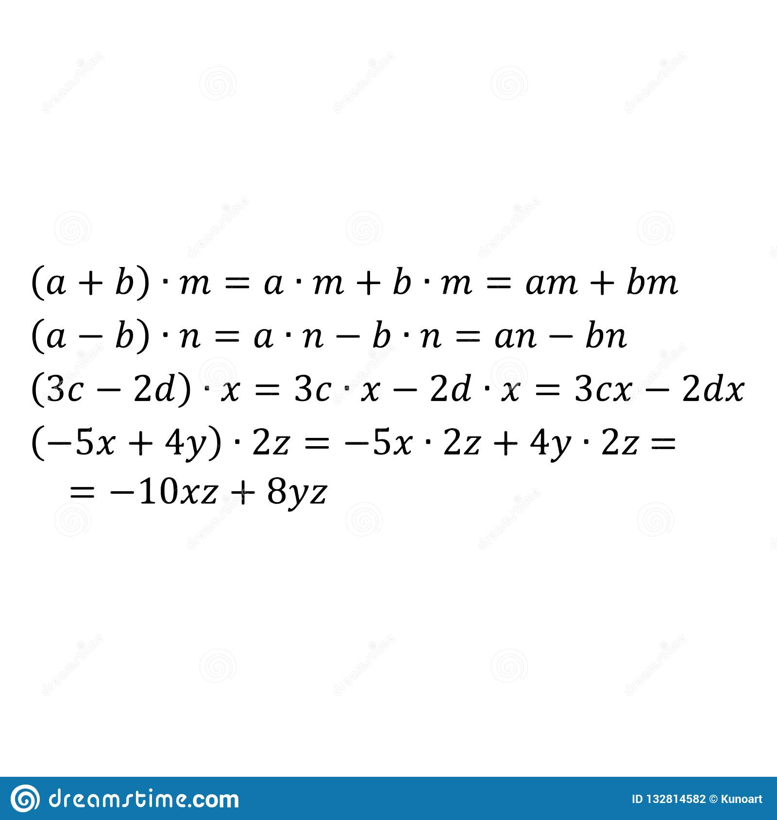 An Example Of The Algebraic Problem Of Multiplying A