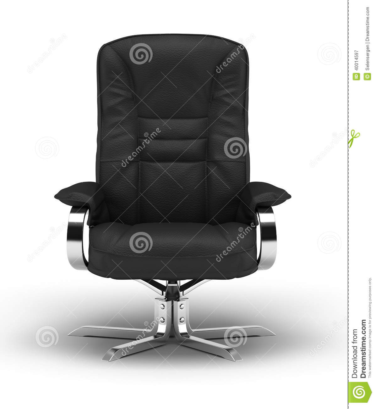 office chair illustration big bean bags chairs executive stock image of