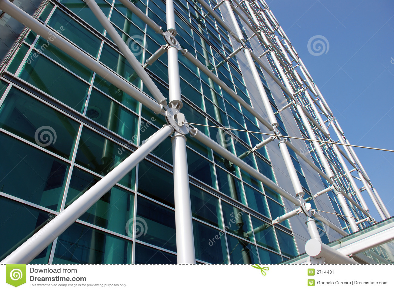 External Structure stock image Image of city building