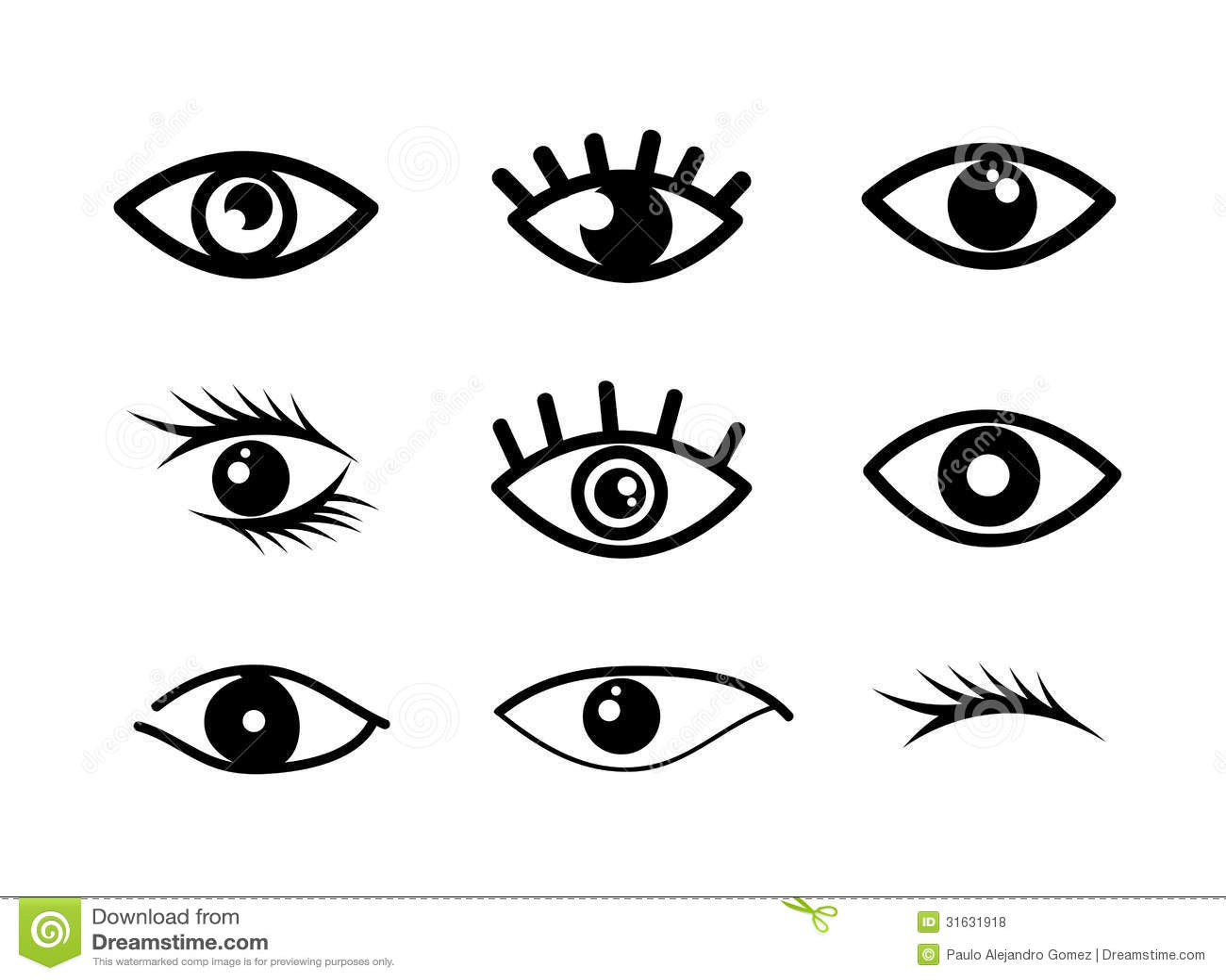 Eye Designs Stock Vector Illustration Of Designs