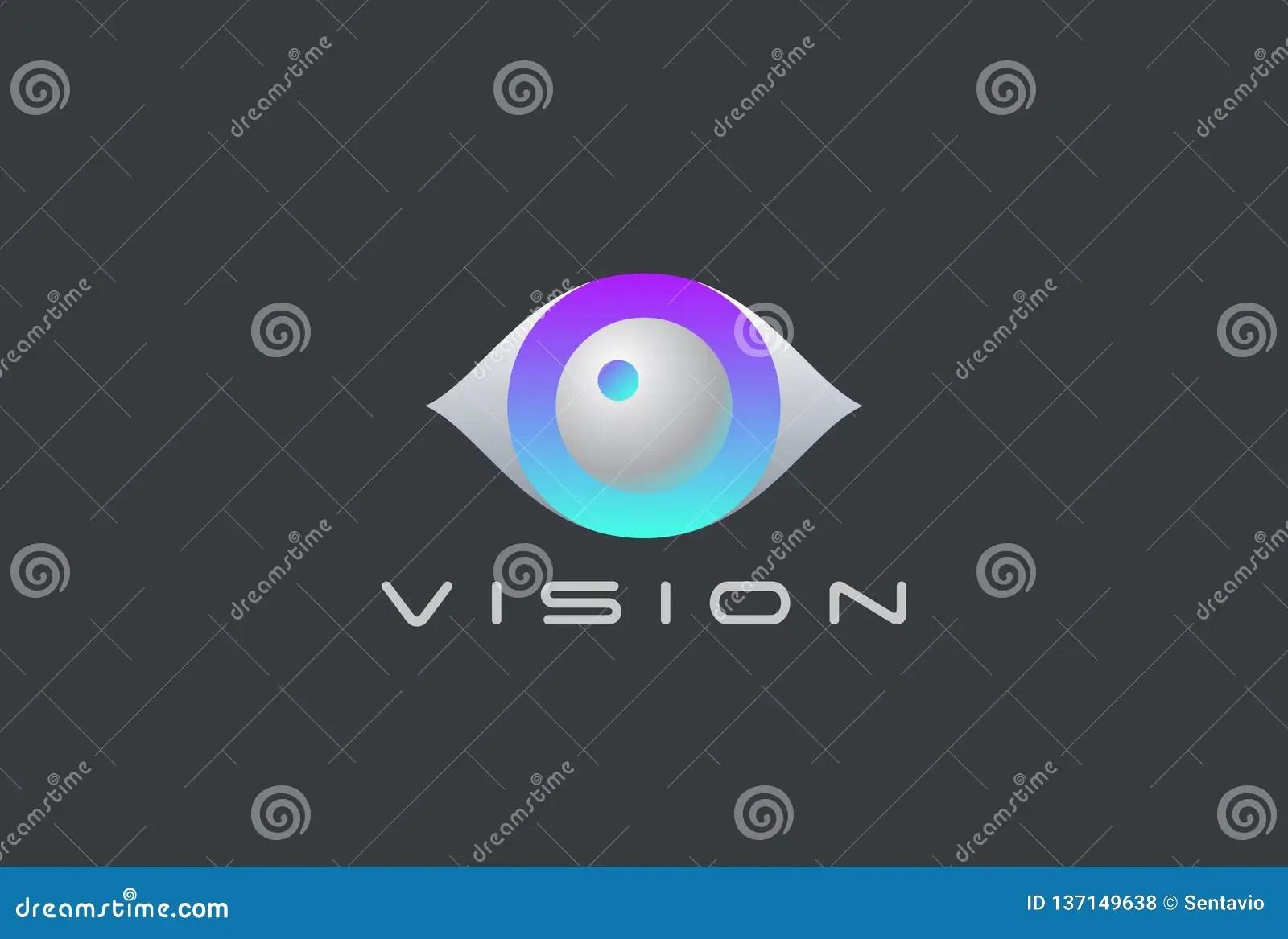 hight resolution of eye logo vision 3d design vector template security video photo optic lens spy virtual camera logotype concept icon