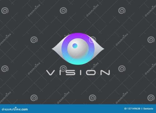 small resolution of eye logo vision 3d design vector template security video photo optic lens spy virtual camera logotype concept icon