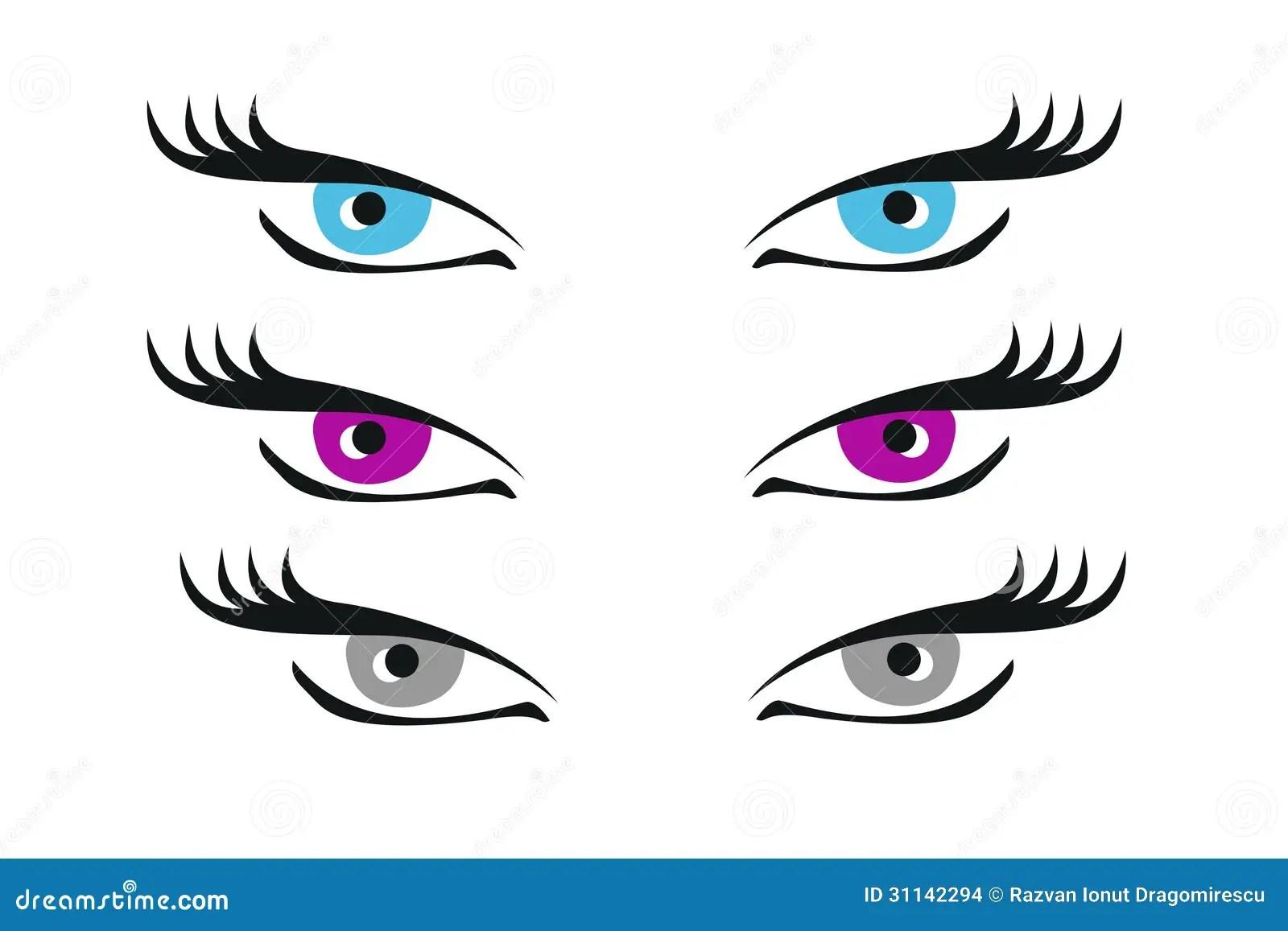 Eyes Illustration Stock Illustration Image Of Eyelid