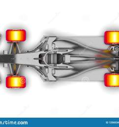 3d render image representing an f1 car radiography [ 1600 x 1221 Pixel ]