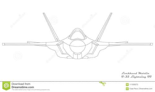 small resolution of image of a lockheed martin f 35 lightning ii front view