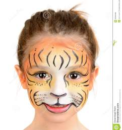 tiger face paint women photo 11 [ 1169 x 1300 Pixel ]