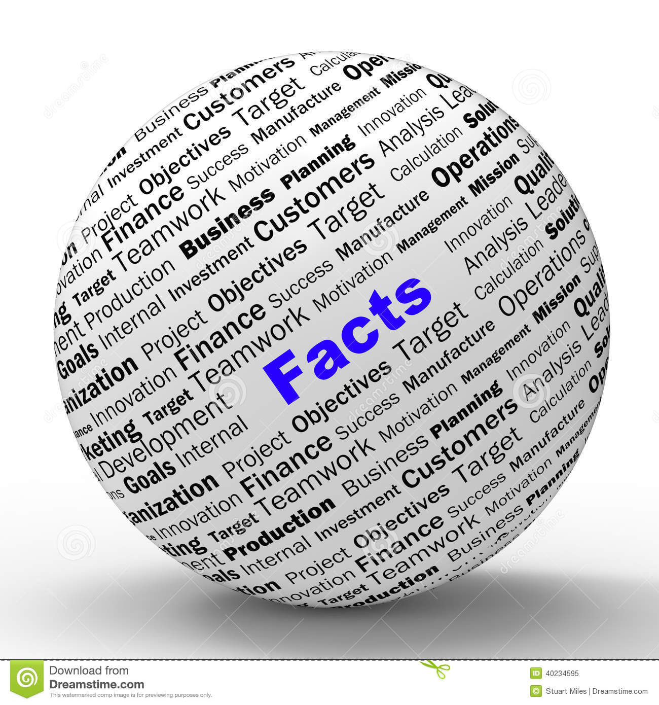 Facts Sphere Definition Means Truth And Wisdom Stock Illustration - Illustration of true. answers: 40234595