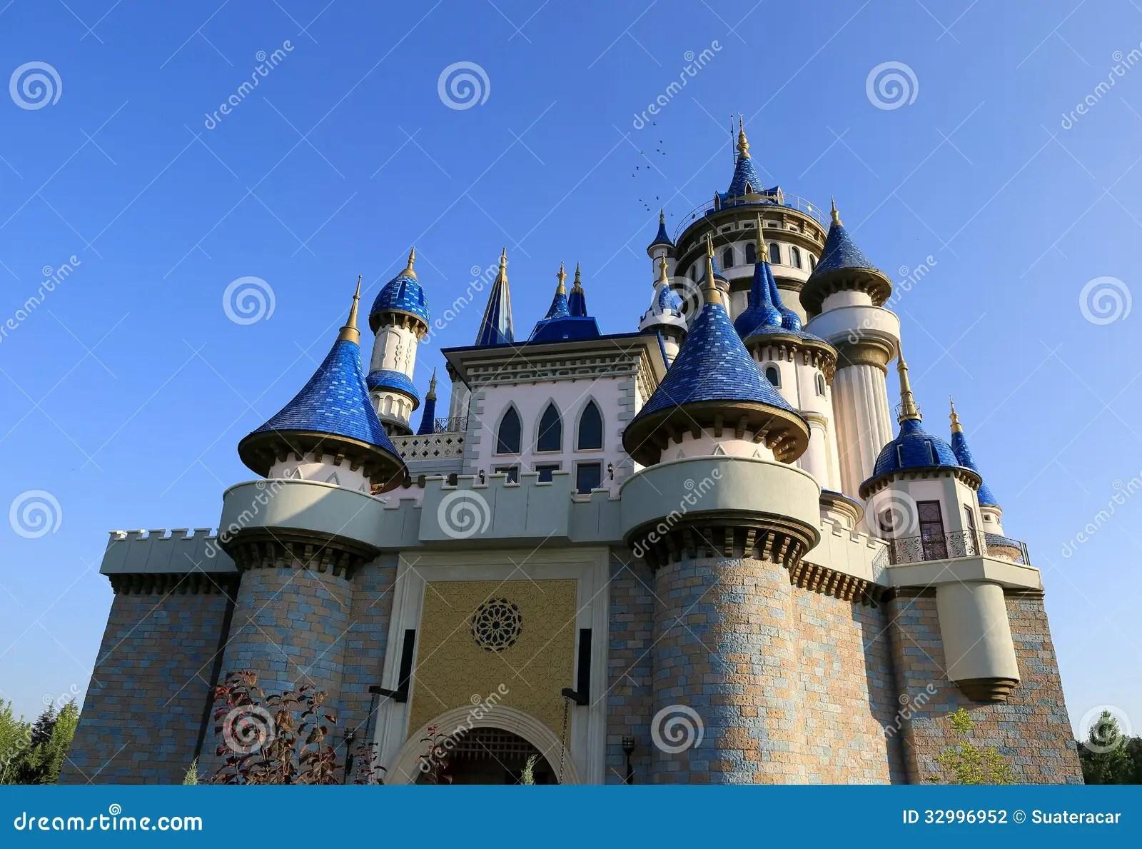 Fairytale Castle Stock Photography  Image 32996952